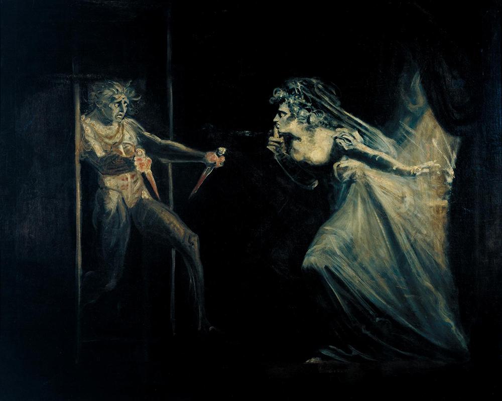 Lady Macbeth Seizing the Daggers, by Henry Fuseli, c. 1812.