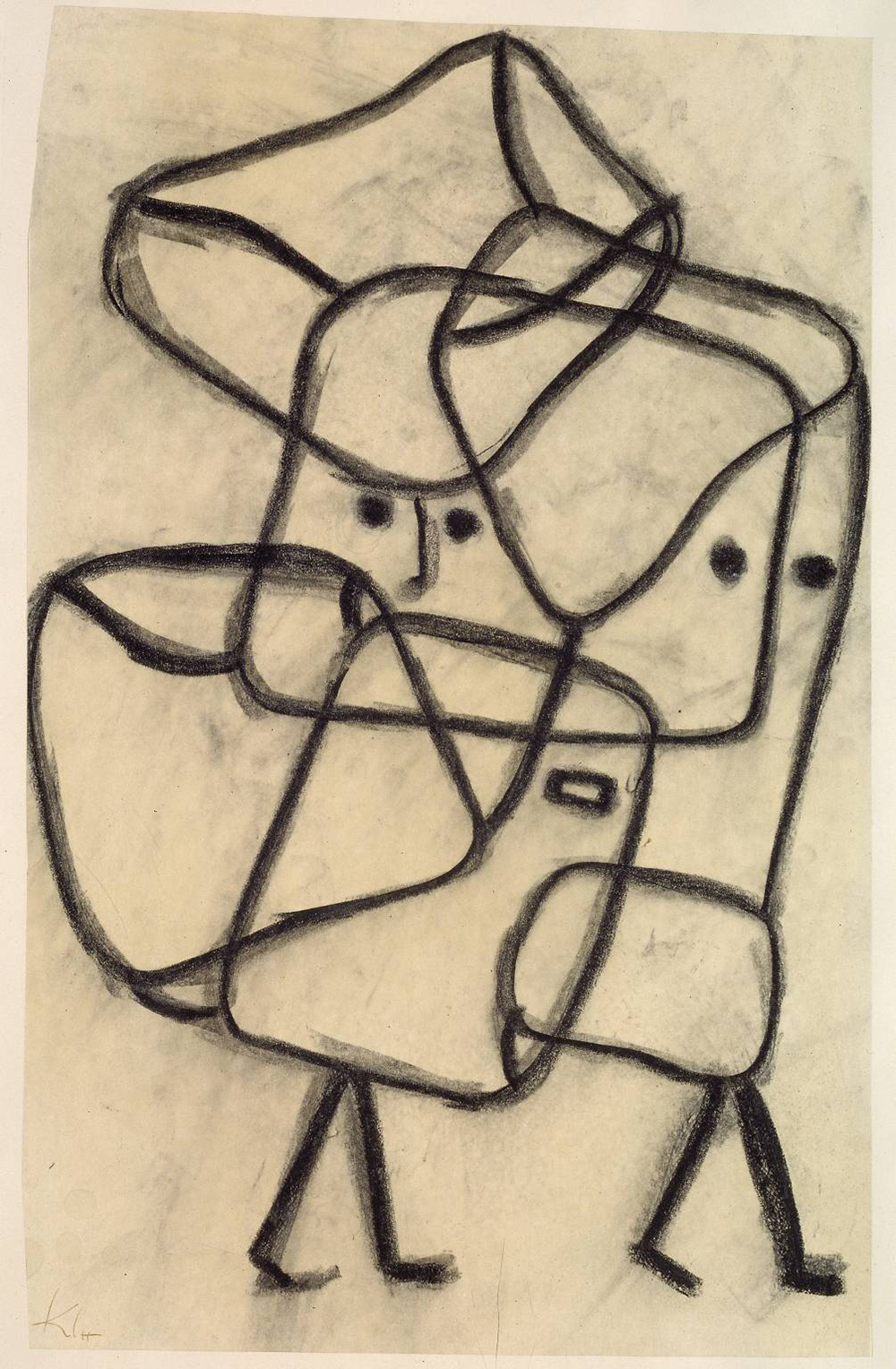 Burdened Children, by Paul Klee, 1930.