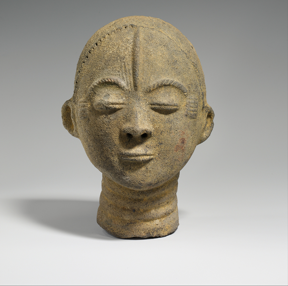 Memorial head (nsodie), seventeenth- to mid-eighteenth century. The Metropolitan Museum of Art, The Michael C. Rockefeller Memorial Collection, Purchase, Nelson A. Rockefeller Gift, 1967.