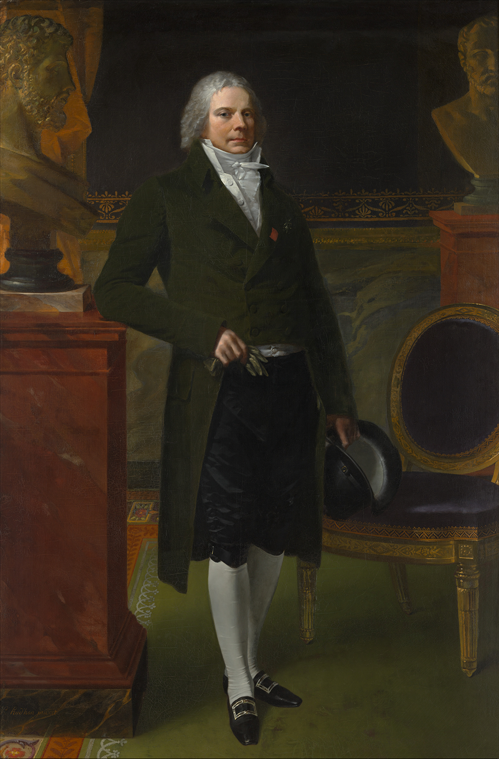 Charles Maurice de Talleyrand Périgord (1754–1838), Prince de Talleyrand, by Pierre Paul Prud'hon, 1817. The Metropolitan Museum of Art, Purchase, Mrs. Charles Wrightsman Gift, in memory of Jacqueline Bouvier Kennedy Onassis, 1994.