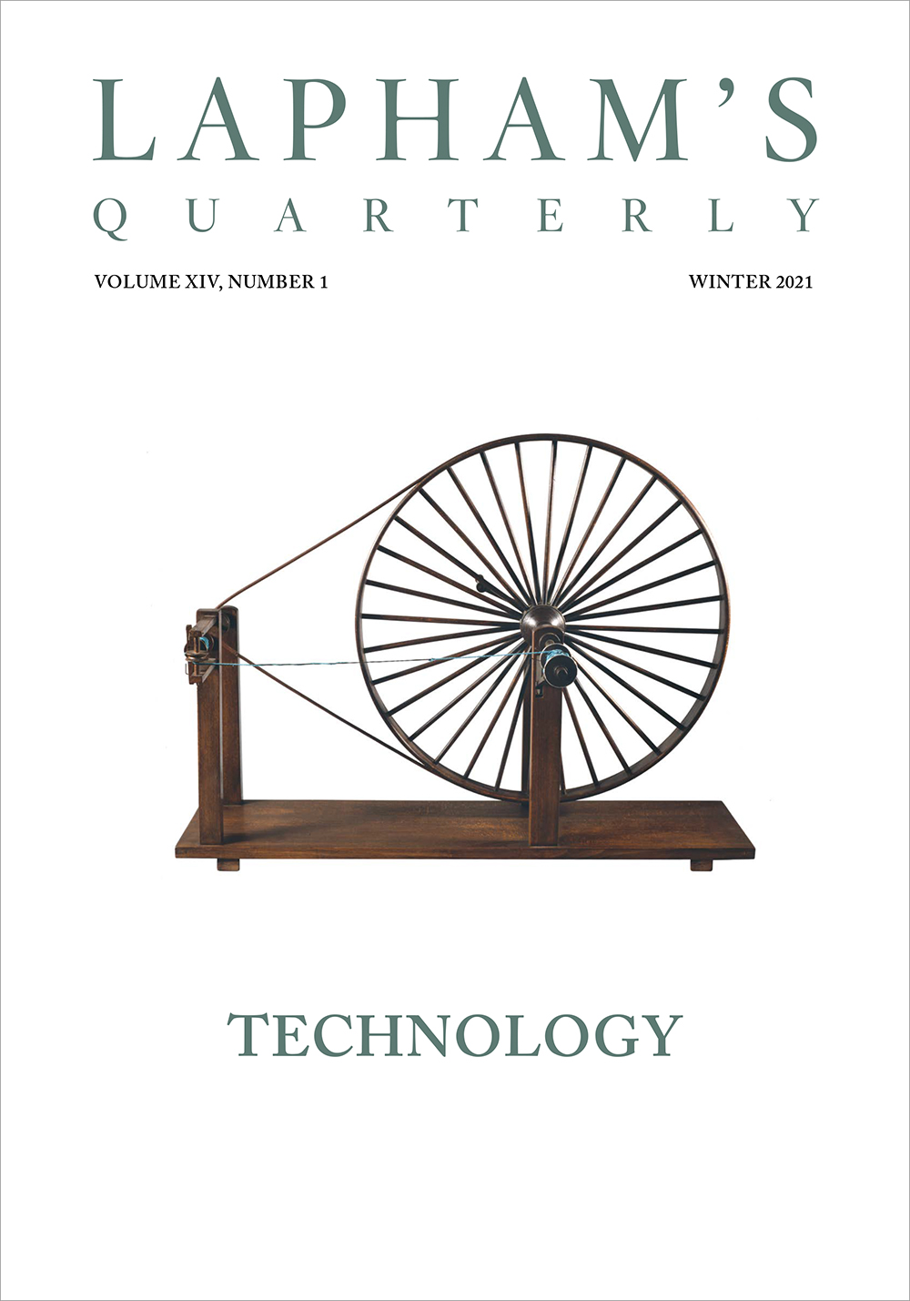 Cover of Technology, the new issue of Lapham's Quarterly