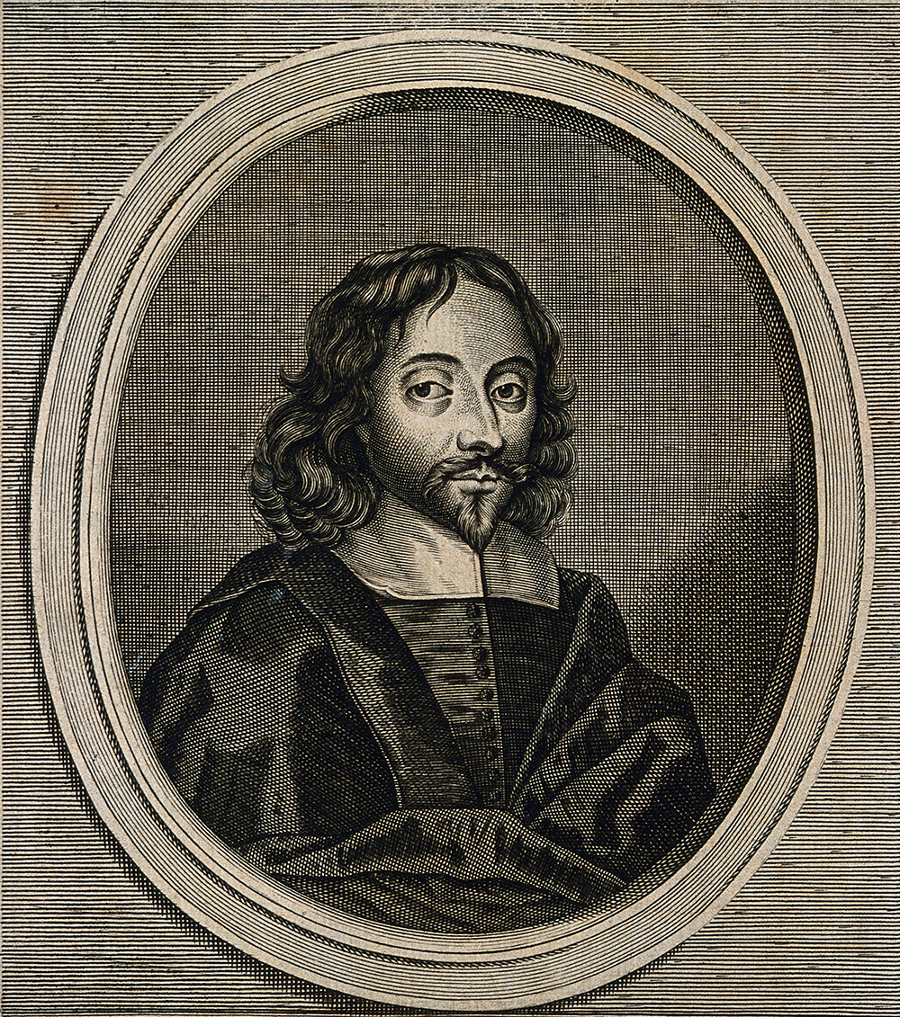 Sir Thomas Browne, engraving by F. van Hove, 1672. Wellcome Collection (CC BY 4.0).