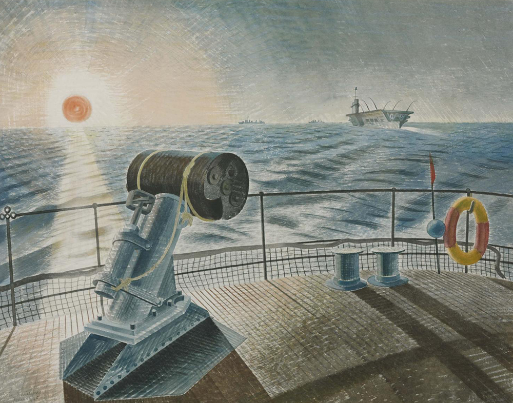 Midnight Sun, by Eric Ravilious, 1940. Photograph © Tate (CC-BY-NC-ND 3.0).