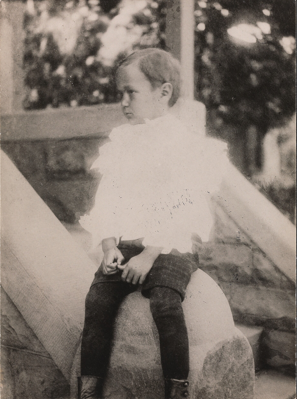 Jean Toomer as a child. Jean Toomer Papers, James Weldon Johnson Memorial Collection in the Yale Collection of American Literature, Beinecke Rare Book and Manuscript Library, Yale University.
