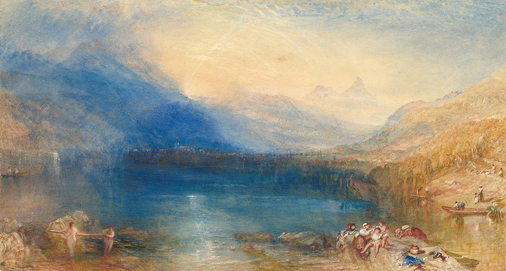 The Lake of Zug, by J.M.W. Turner, 1843. The Metropolitan Museum of Art, Marquand Fund, 1959.