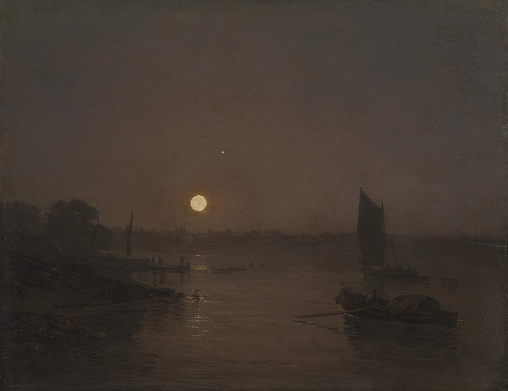 Moonlight, a Study at Millbank, by Joseph Mallord William Turner, 1797. Photograph © Tate (CC-BY-NC-ND 3.0).