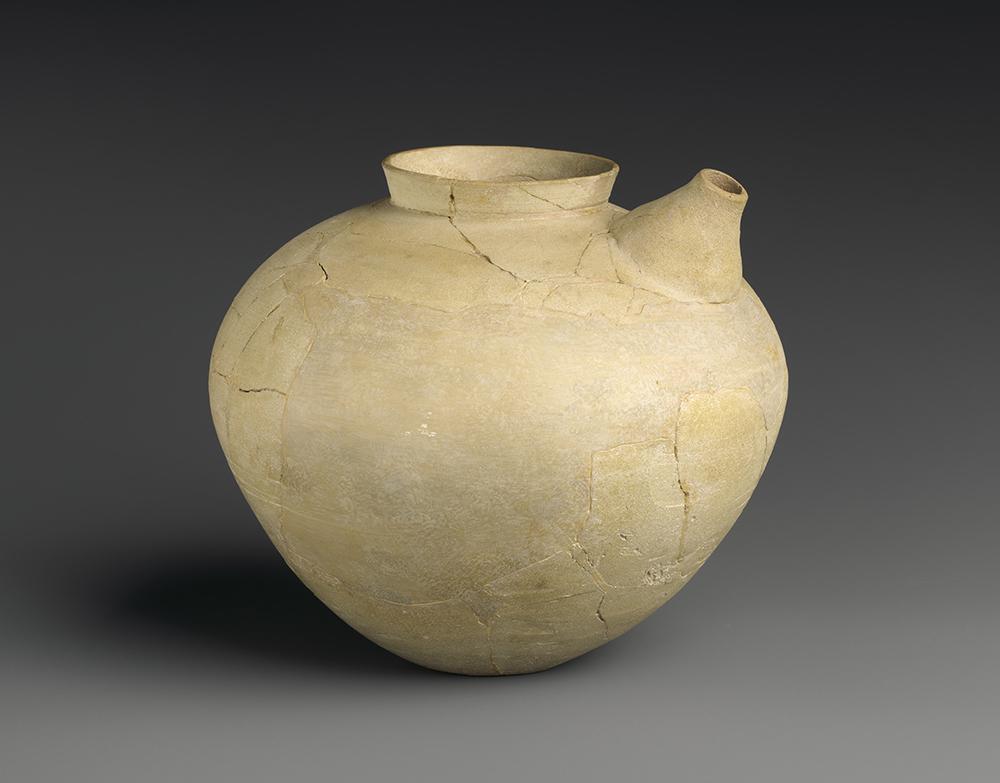 Spouted jar, Nippur, Mesopotamia, Uruk, fourth millennium BC.