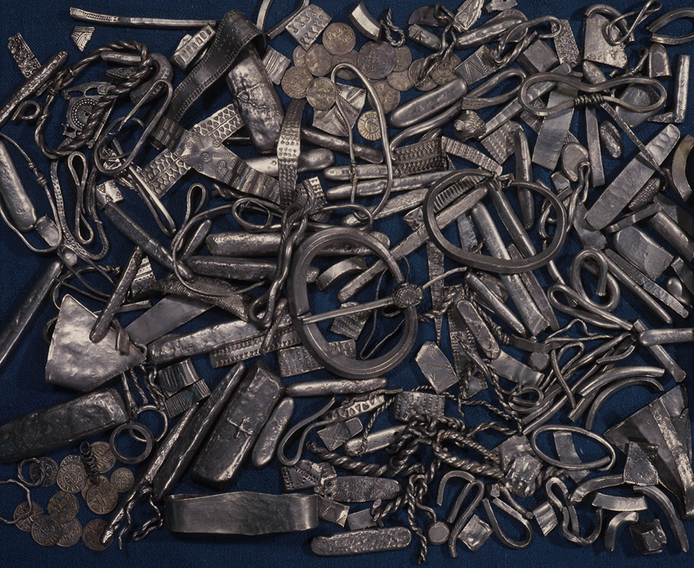 Group of Viking objects, c. 905. © The Trustees of the British Museum.