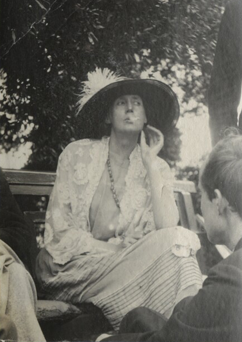 Virginia Woolf, 1923. Photograph by Ottoline Morrell. © National Portrait Gallery, London.