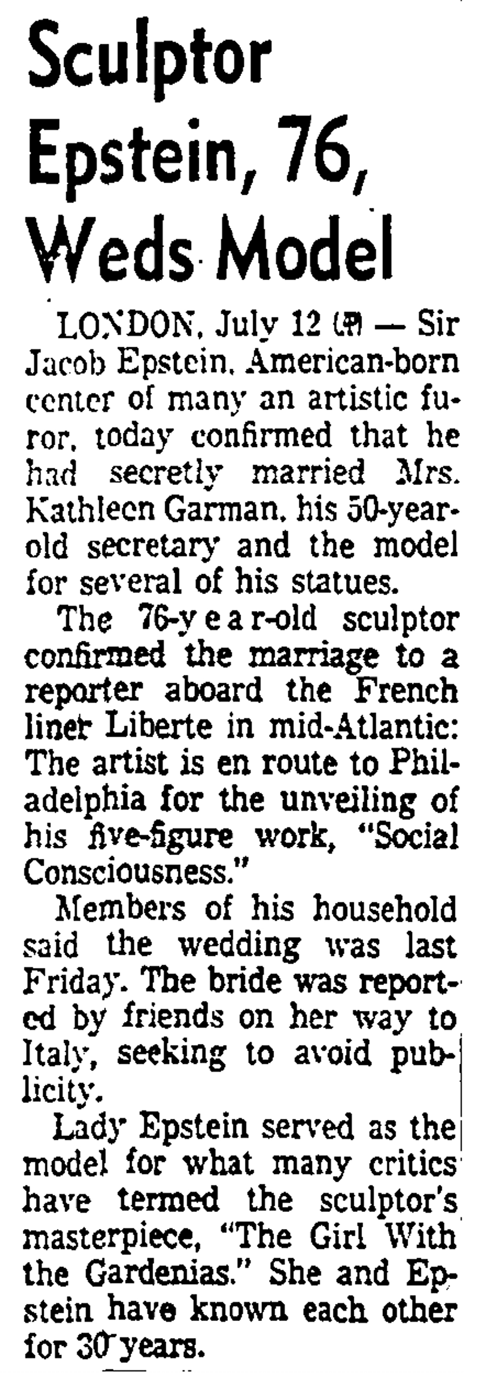 Los Angeles Times, July 13, 1955.