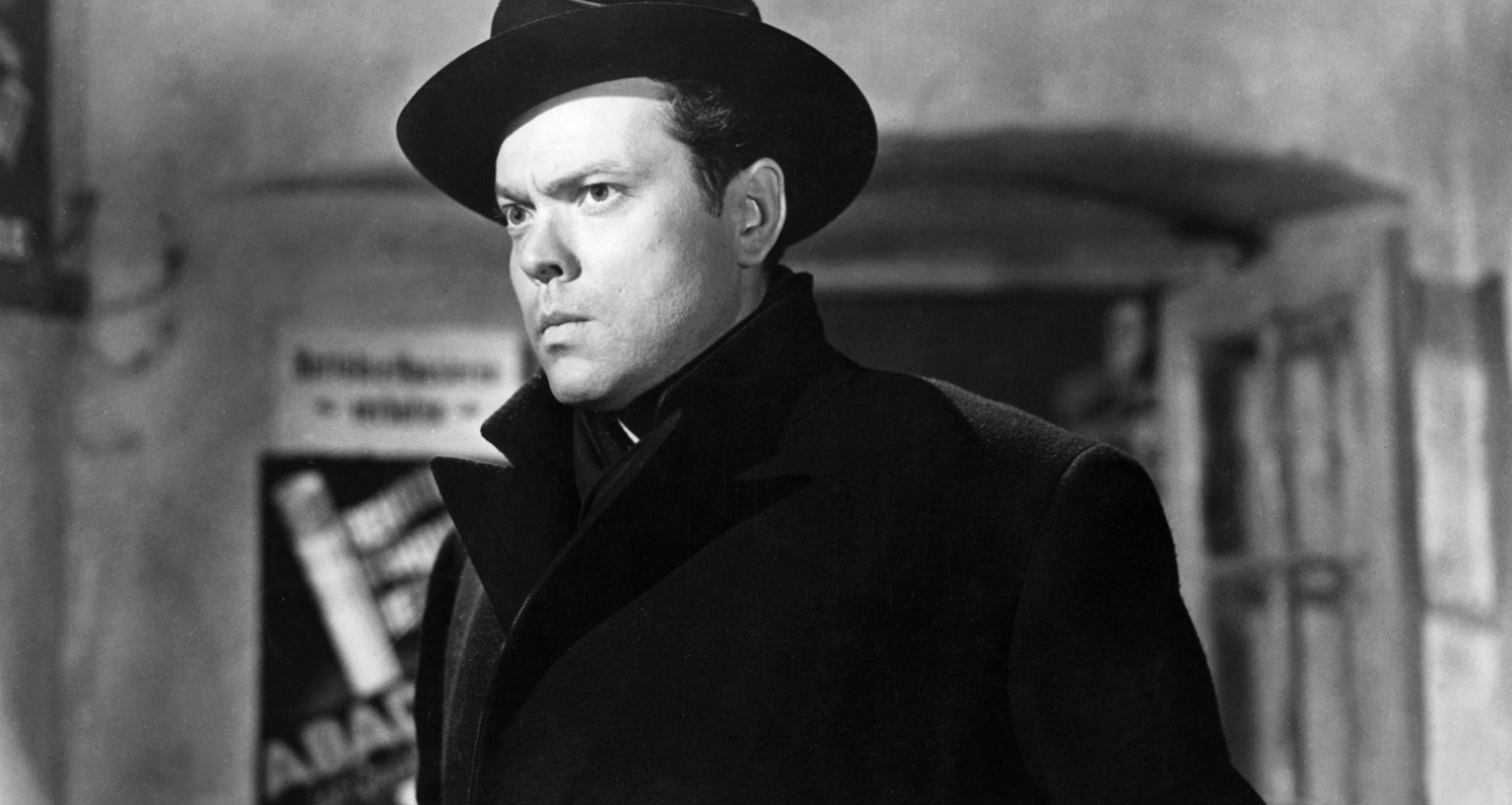 "Orson Welles in a still from ""The Third Man,"" © 1949 STUDIOCANAL Films Ltd. All Righs Reserved/The Kobal Collection."