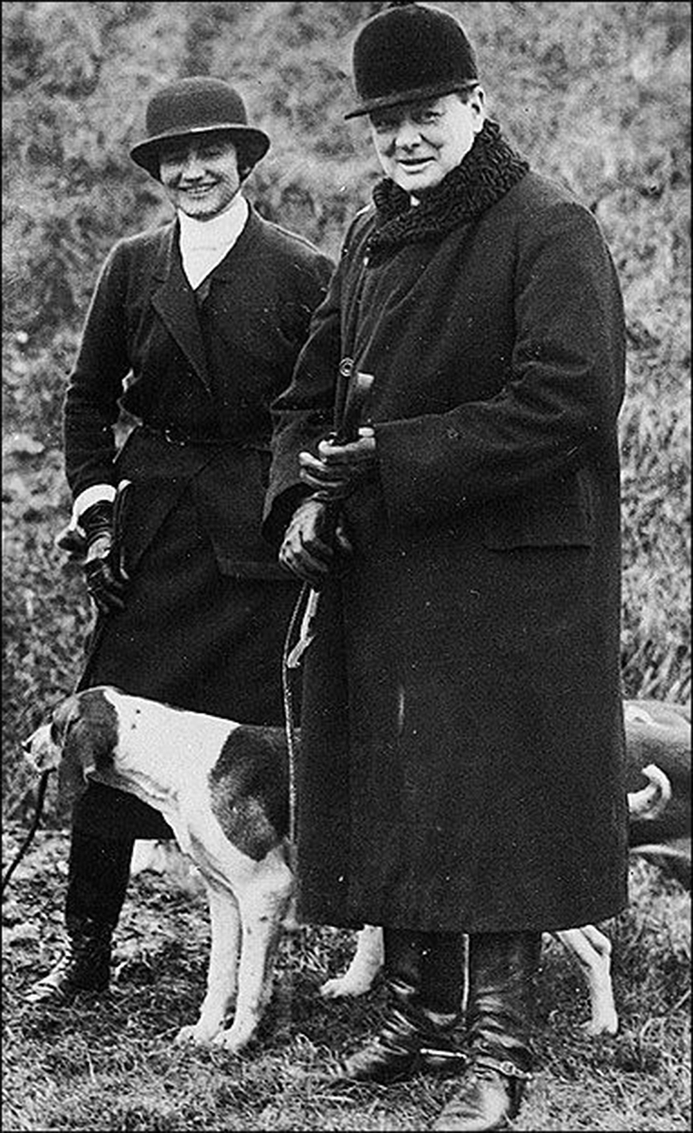 Winston Churchill and Coco Chanel, 1921. Wikimedia Commons.